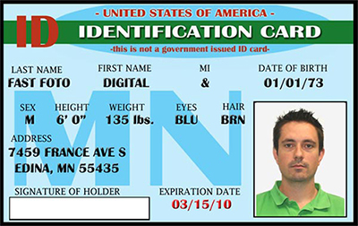 ID Cards Edina MN